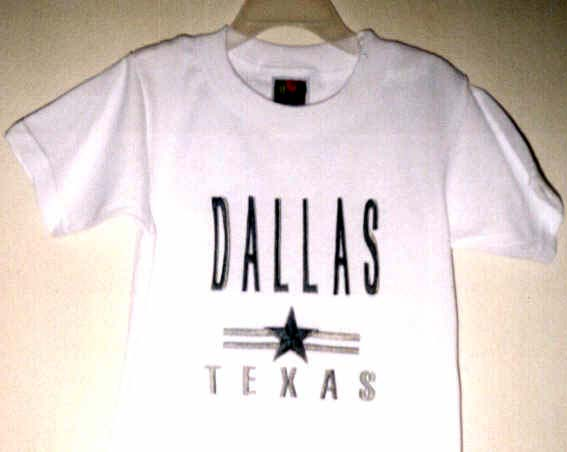 Personalize shirts your own sayings or your company logo here for Custom made shirts dallas