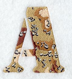 SPORTS LETTERS NUMBERS-Athletic Twill