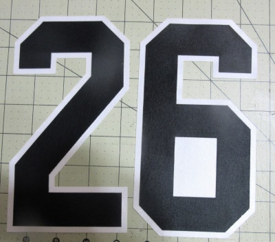 Loose Letters Athletic Twill